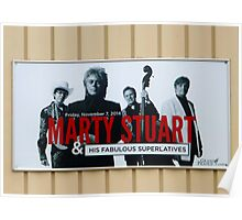 Marty Stuart Sign Poster