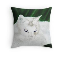 PUSSY4 Throw Pillow