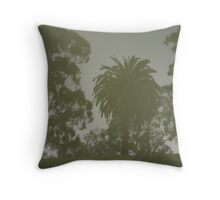 Palm reflection Throw Pillow