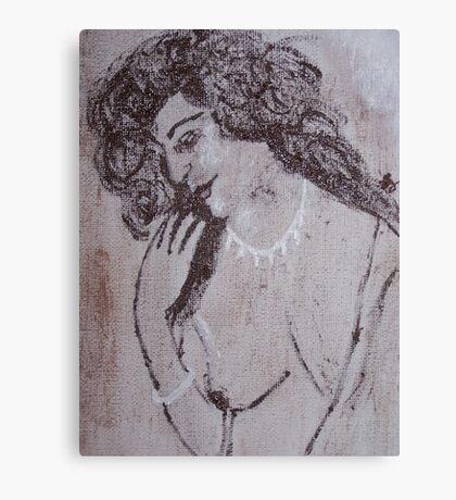 Vintage Nude Canvas Print