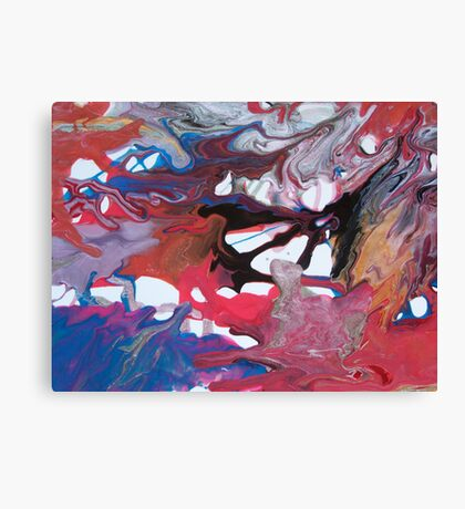 Emotion's Bed Canvas Print