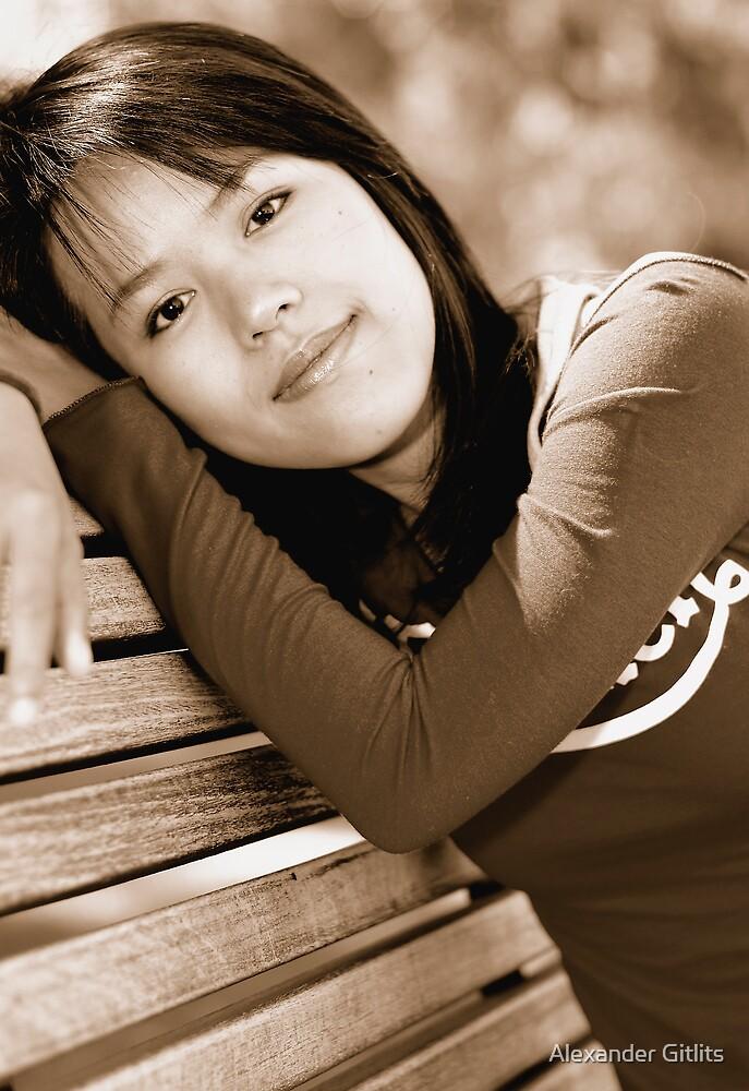 Thai Girl by Alexander Gitlits