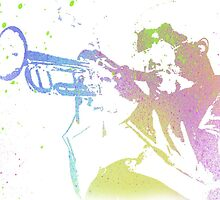 Trumpet Player by Jmurdera