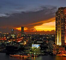 Sunset colours by Alexander Gitlits