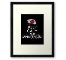 Keep Calm and Amaterasu b Framed Print
