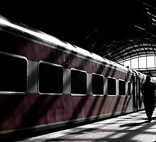 Strangers On A Train.... by Melody