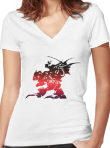 FF6 Women's Fitted V-Neck T-Shirt
