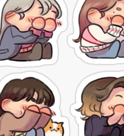shy Sticker