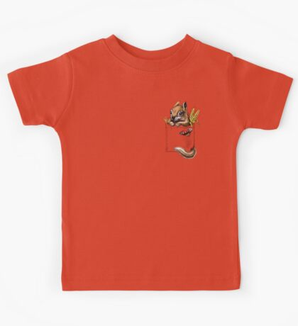 Pocket chipmunk Kids Tee