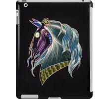 Day Of The Dead Skull Horse Head iPad Case/Skin