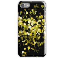 Yellow Splatter iPhone Case/Skin