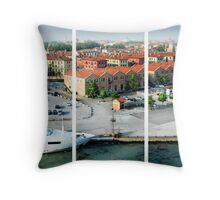 Leaving Venice Throw Pillow