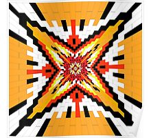 Geometric Star Poster