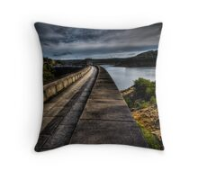 Woronora Dam Throw Pillow