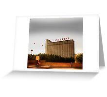 Petrini Building Greeting Card