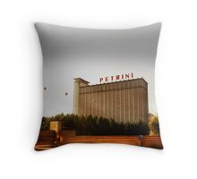 Petrini Building Throw Pillow