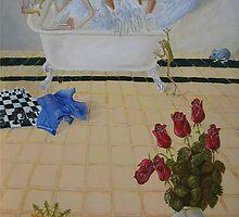 Bathroom Scene by Graham Dean