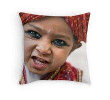 Jodhur dancer Throw Pillow
