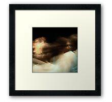 molded minute Framed Print