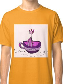 Silly Sailed Away In A Teacup Classic T-Shirt