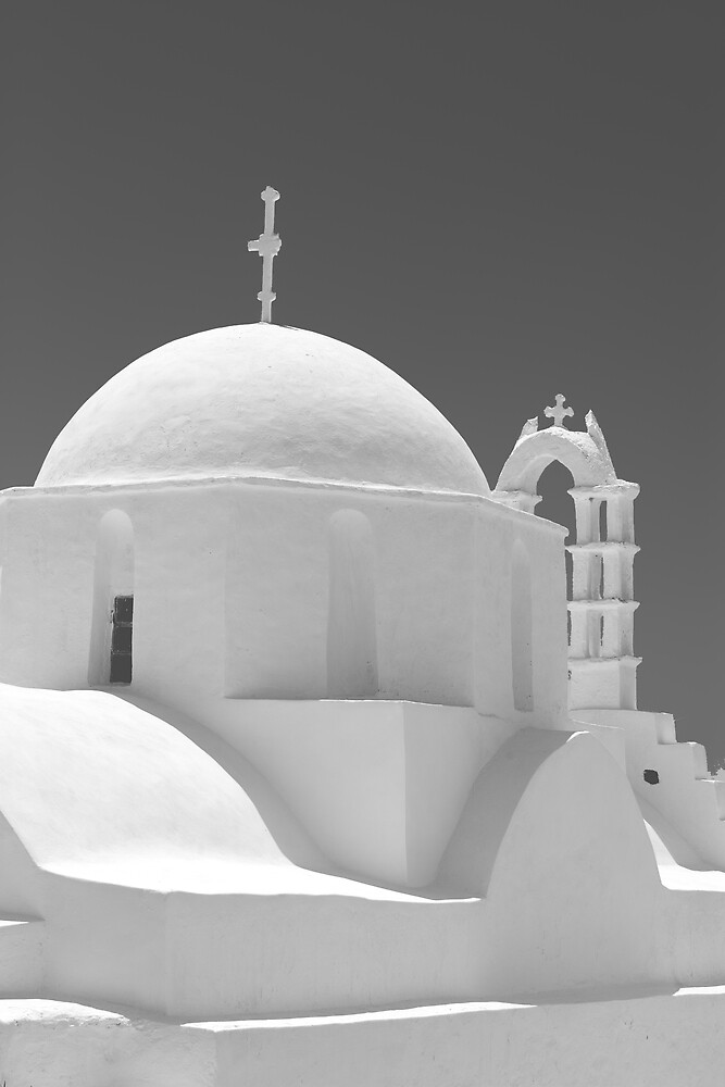 Chapel on Amorgos by RedChevy