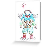 Blue Dwalin Greeting Card