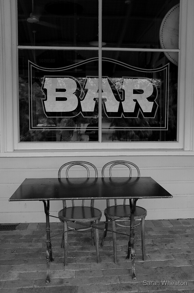 bar by Sarah Wheaton