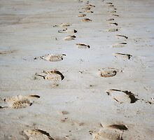 Footsteps by beejay