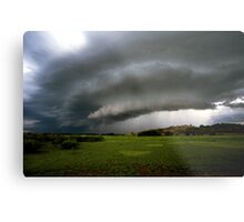 Top-end thunderstorm Metal Print