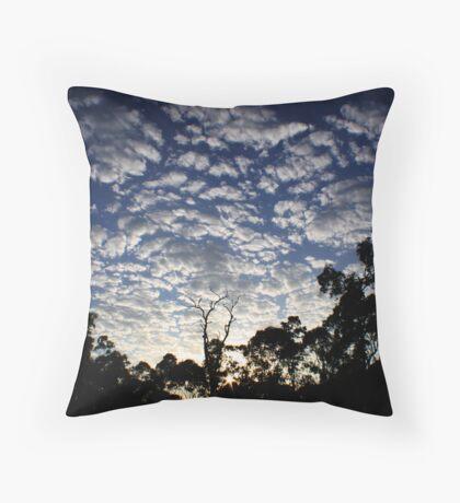 Cloud Burst Throw Pillow