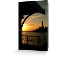 Pt Lonsdale Lighthouse Greeting Card