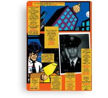 Bird of Steel Comix – # 7 of 8   - (Red Bubble POP-ART COLLECTION SERIES) Canvas Print