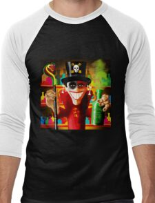 JUJU MAN Men's Baseball ¾ T-Shirt