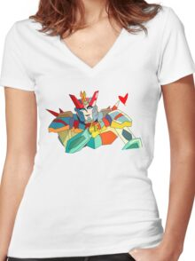 Proteus Women's Fitted V-Neck T-Shirt