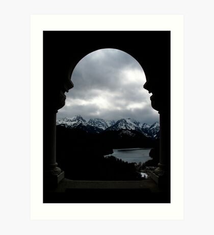 German Alps Art Print