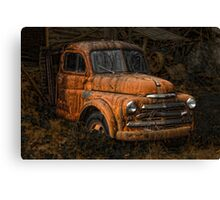 """PARKED"" Canvas Print"