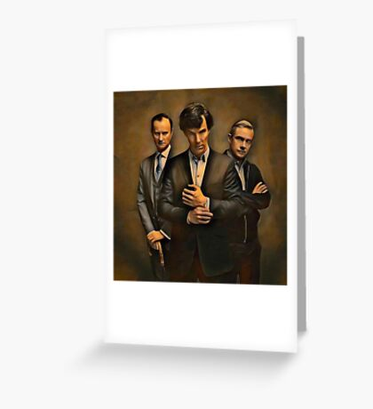 The Government, The Detective, and the Doctor Greeting Card