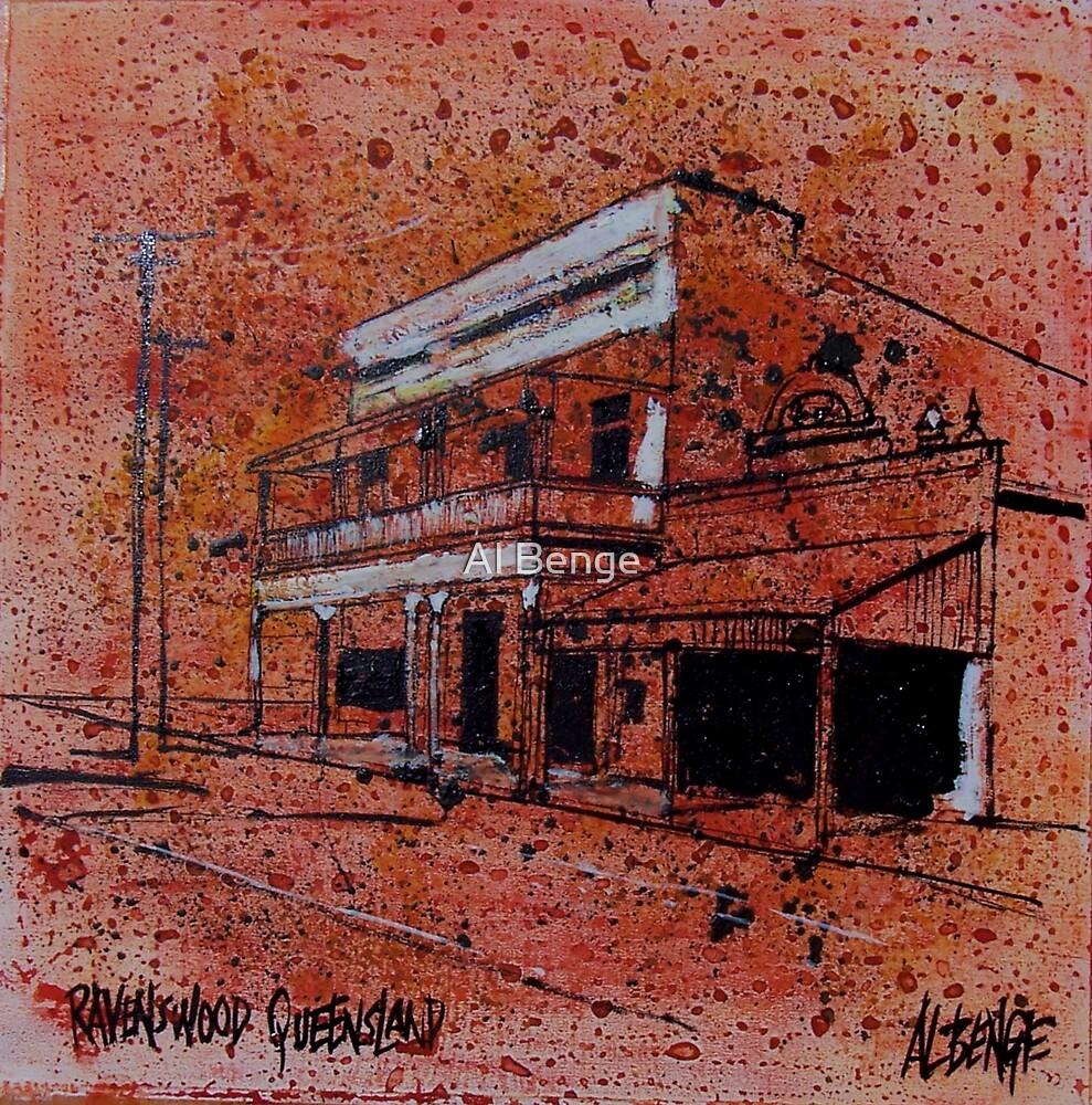 Old building, Ravenswood, North Queensland by Al Benge