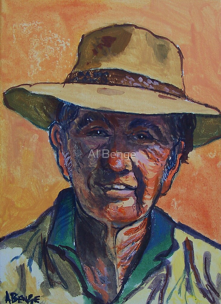 Outback Stockman by Al Benge