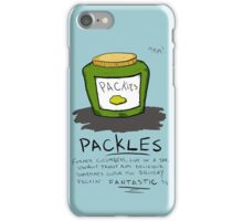 Pickles Packles iPhone Case/Skin