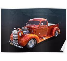 1940 Chevy Pickup Poster