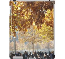 Autumn Colors, 9/11 Memorial and Park, Lower Manhattan, New York City iPad Case/Skin
