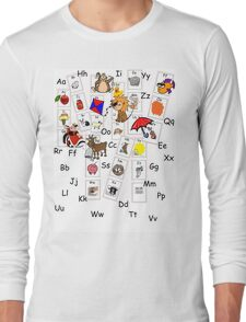 Alphabet Tee Long Sleeve T-Shirt