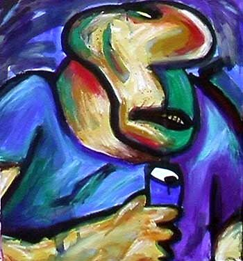 Drinker by Adrian Symes