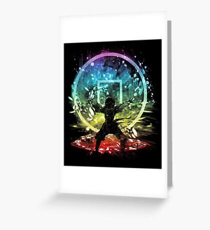 earth storm v2 Greeting Card