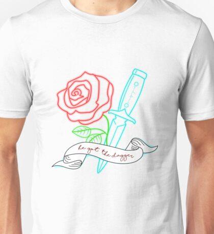 Rose and Dagger Unisex T-Shirt