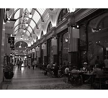 Block Arcade Photographic Print