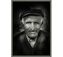 Santorini portrait Photographic Print