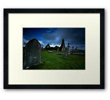 The ruins of Balnakeil Church Framed Print