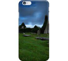 The ruins of Balnakeil Church iPhone Case/Skin